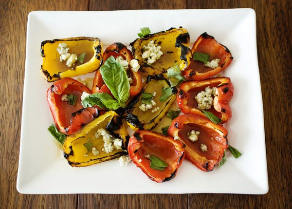 grilled pepper salad recipe