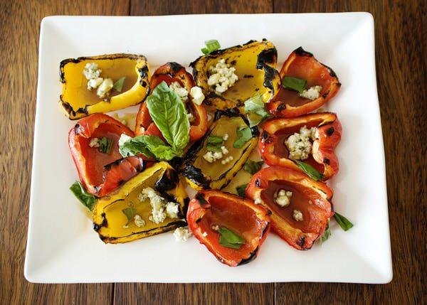 grilled pepper salad recipe