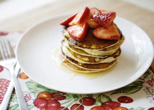 make ahead pancakes
