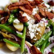 green bean potato salad