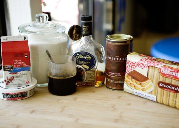 quick tiramisu trifle recipe