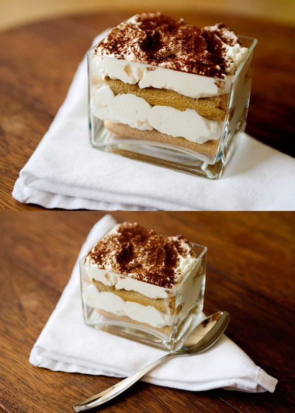 quick tiramisu trifle