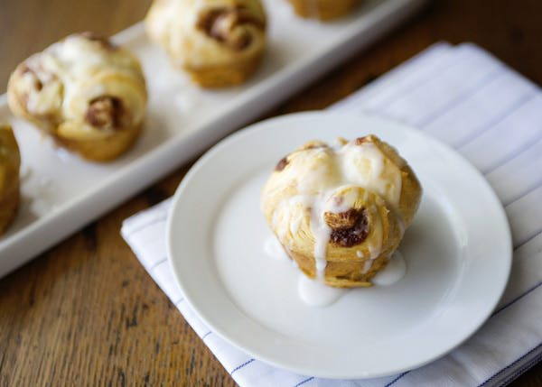 Quick and Easy Cinnamon Butter Buns - Baked Bree