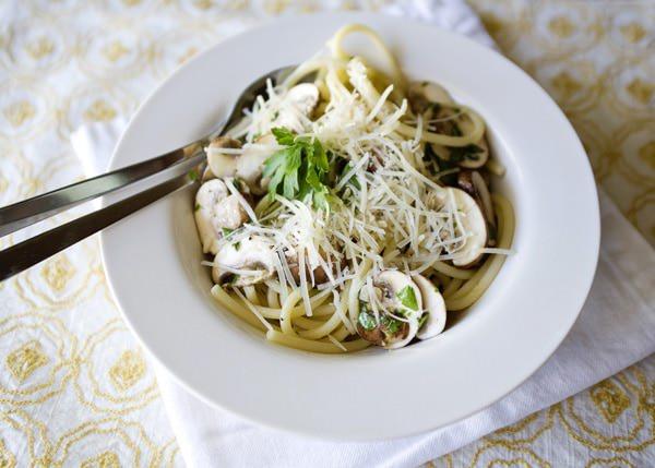 mushroom linguine recipe