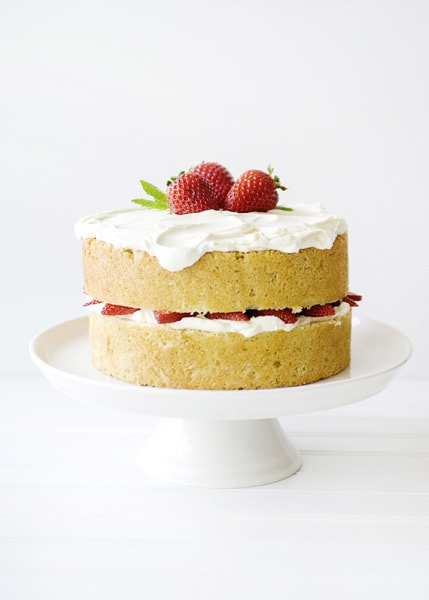 white chocolate strawberry cake recipe