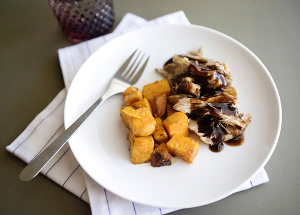 brown sugar and balsamic crock pot pork recipe