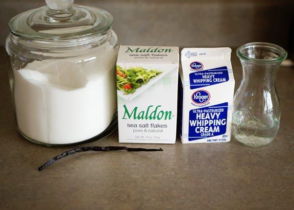 sea salt and vanilla bean caramel sauce recipe