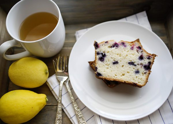 lemon blueberry tea cake recipe