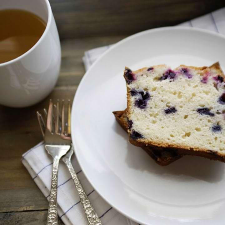 lemon blueberry tea cake recipe