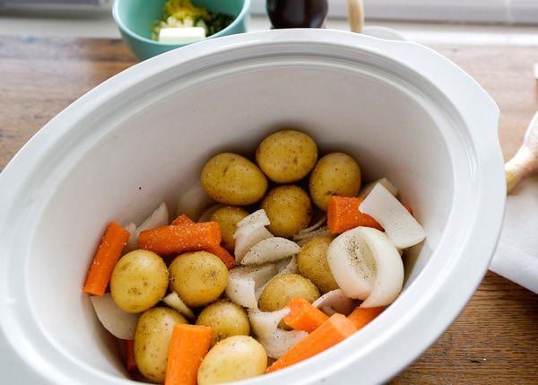 slow cooker roast chicken recipe