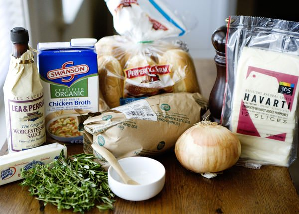slow cooker turkey dip sandwiches recipe