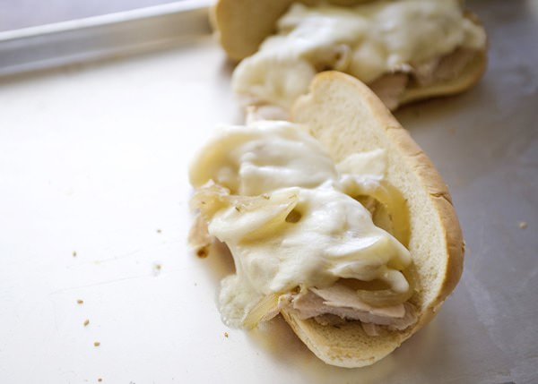 slow cooker turkey dip sandwich recipe