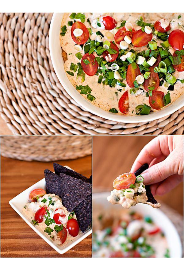 vegan baked taco dip
