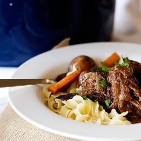 wine marinated pot roast