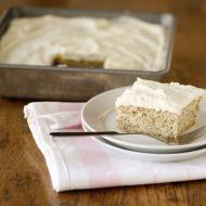 banana cake with vanilla bean frosting recipe