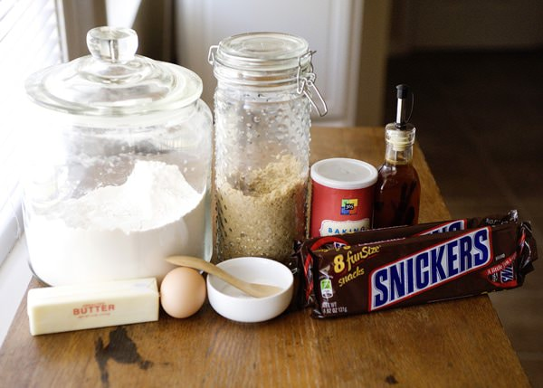 snicker cookie bars recipe