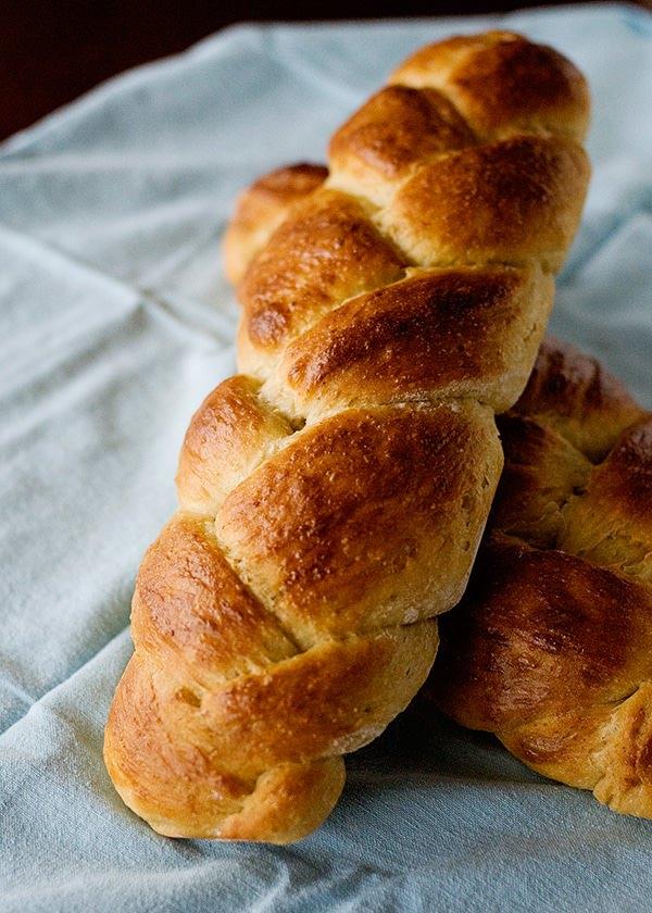 no knead challah bread