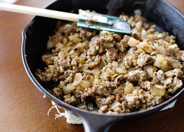 cornbread, sausage, and pecan stuffing recipe