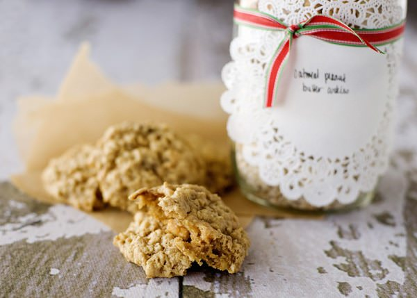 oatmeal peanut butter jar cookie recipe