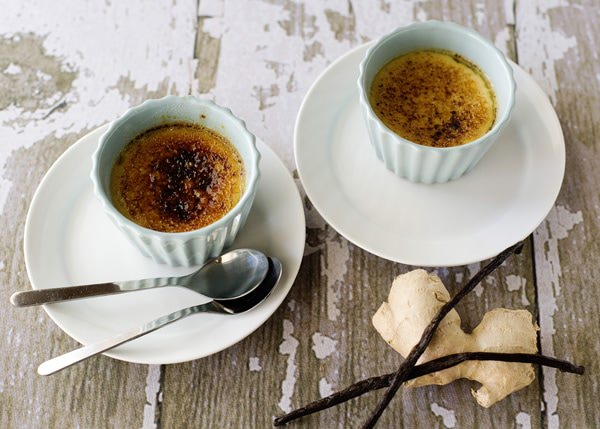 ginger mascarpone creme brulee recipe