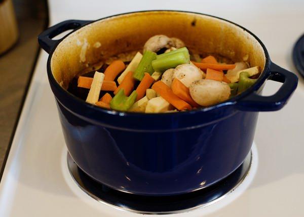 wine marinated pot roast recipe