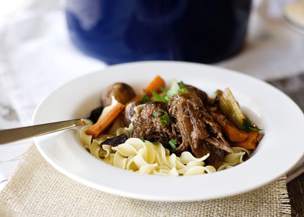 wine marinated pot roast recipe