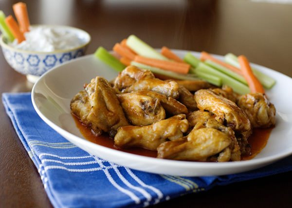 baked buffalo wing recipe