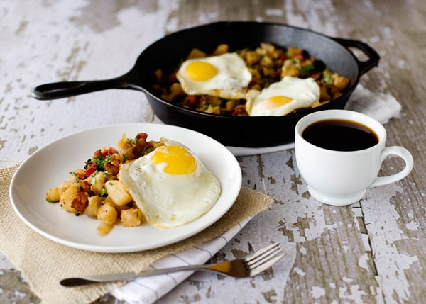 potato and bacon hash recipe