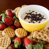 healthy cookie dough dip recipe