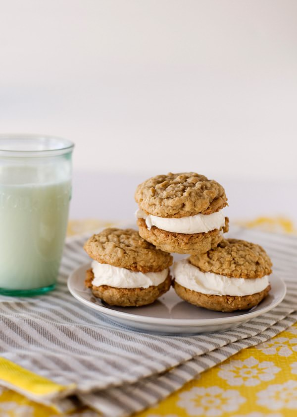 Oatmeal Cream Pies - Baked Bree