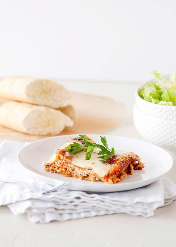 Slow Cooker Lasagna Baked Bree