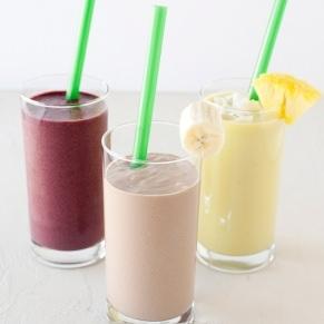 almond breeze breakfast smoothies