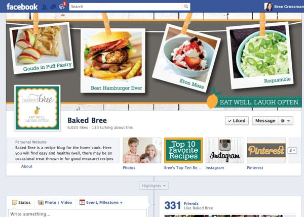 baked bree facebook page