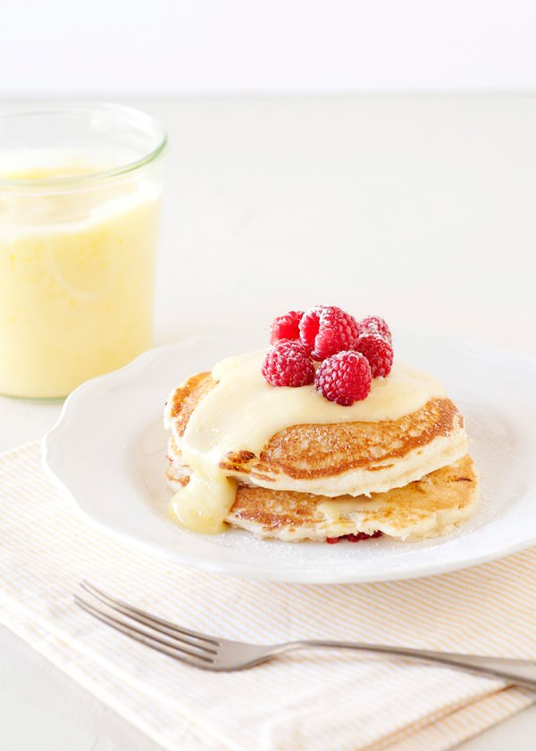 Recipe: Lemon raspberry pancakes