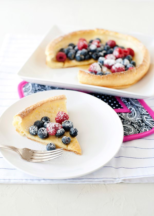 puffed pancake recipe