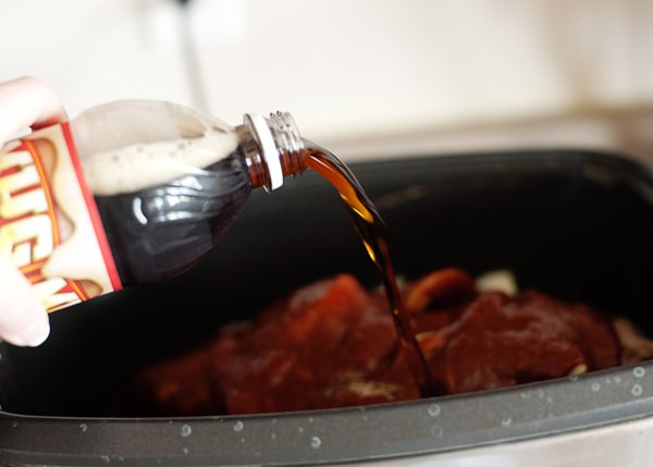 slow cooker root beer brisket recipe