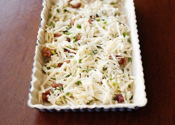 thyme and pancetta quiche recipe