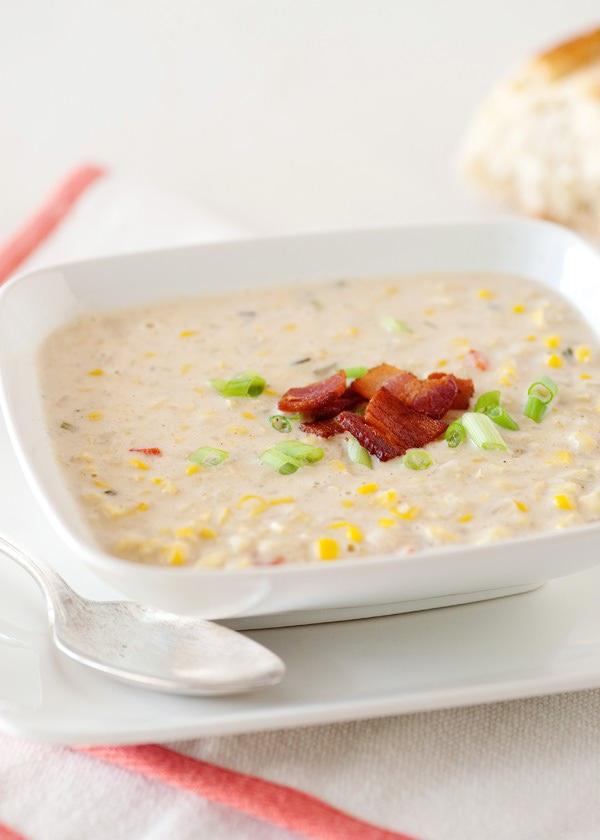 summer corn chowder recipe