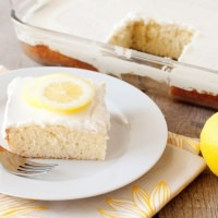 lemonade cake recipe