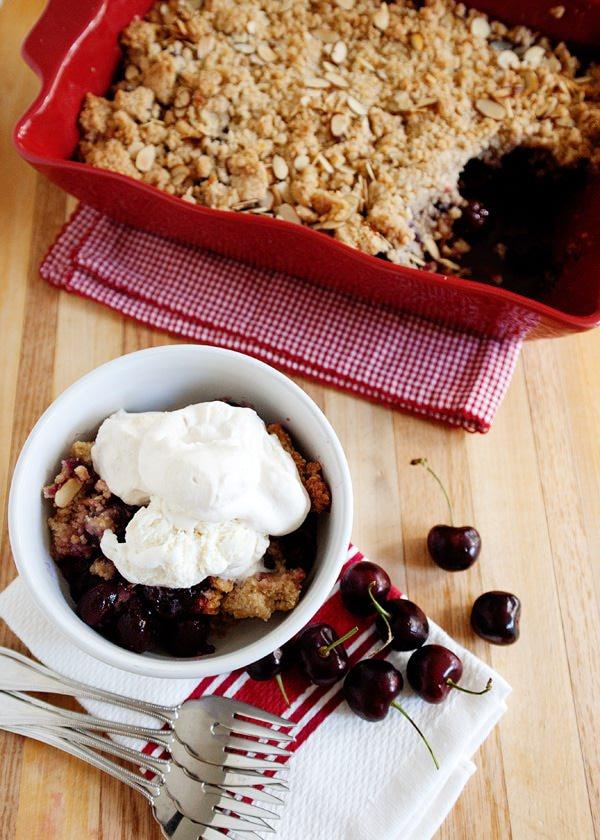 cherry almond cobbler recipe