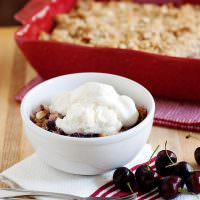 cherry almond cobbler recipe
