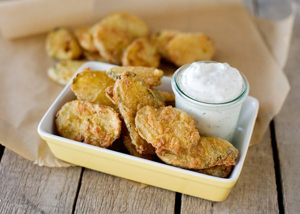 fried pickles with buttermilk ranch dip recipe