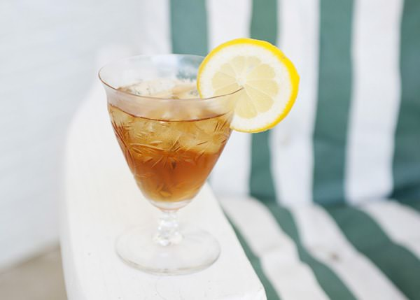 bermagot iced tea cocktail recipe