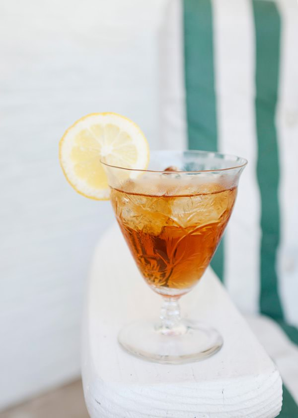 Bergamot iced tea cocktail baked bree for Iced tea cocktail recipes