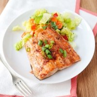 quick ginger salmon recipe
