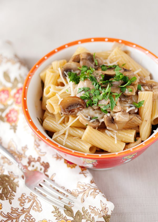 Why not do pasta more often? Presenting chicken marsala recipe