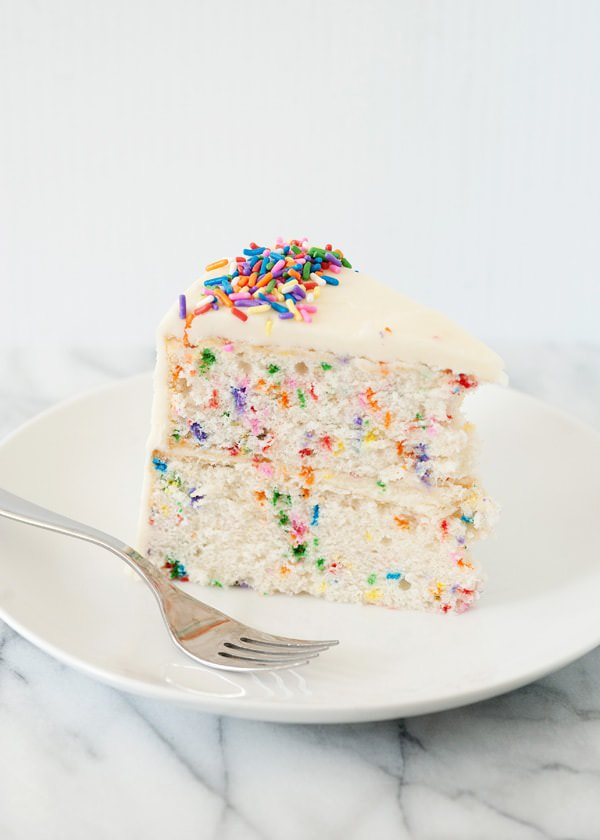 Easy Funfetti Layer Cake