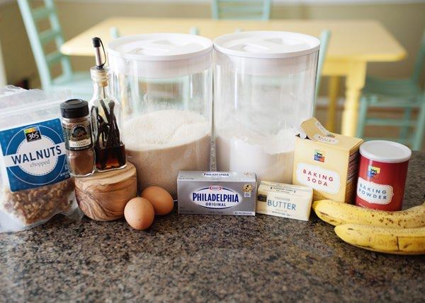 banana cream cheese muffin recipe