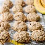 banana oat breakfasst cookie recipe