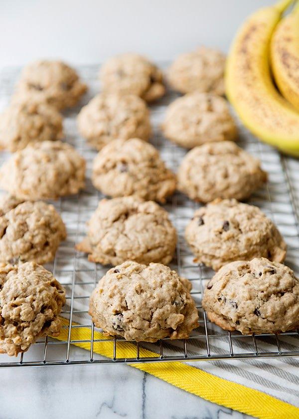 banana oat breakfasst cookie recipe